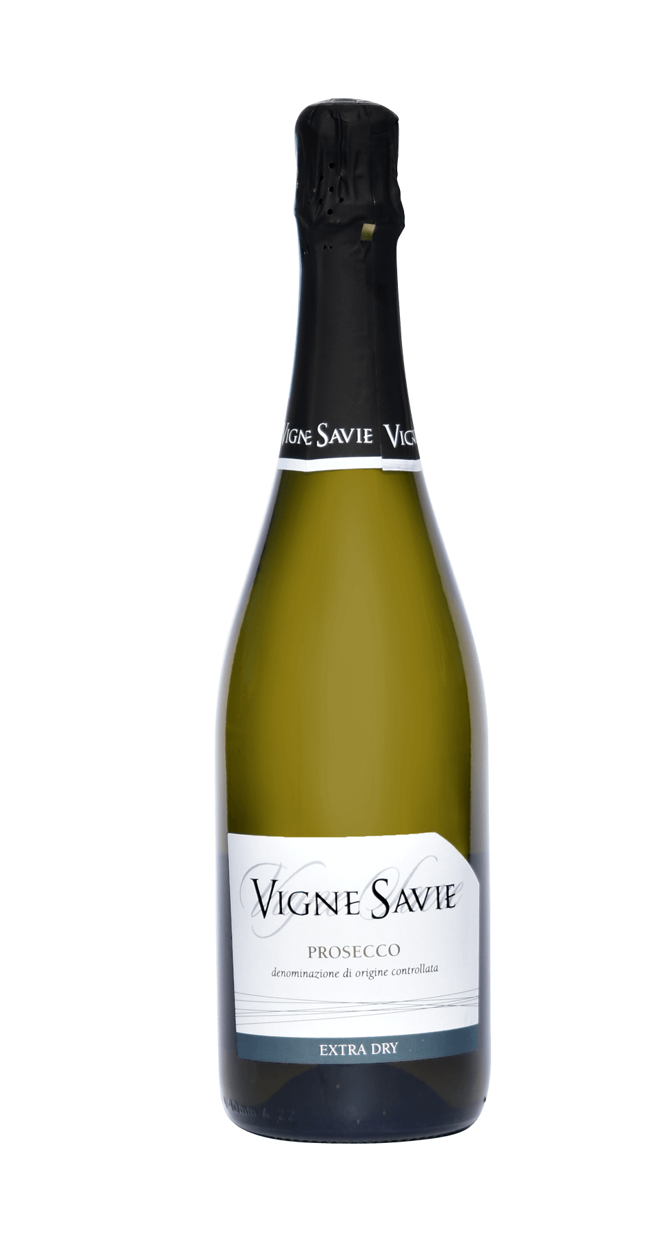 bottiglia vino prosecco extra dry vigne savie
