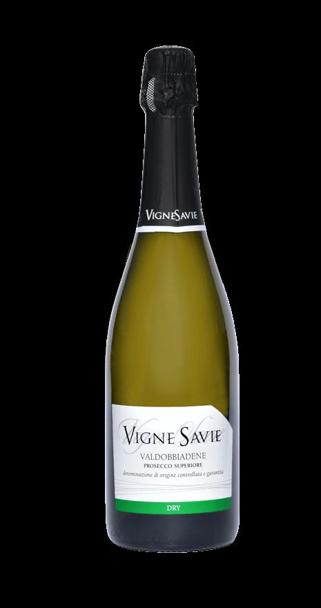 bottiglia vino prosecco superiore dry vigne savie