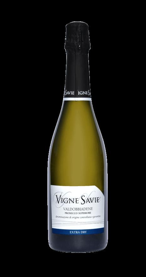 bottiglia vino prosecco superiore extra dry vigne savie